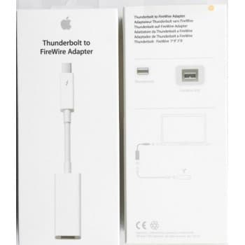 Adapter Apple from Thunderbolt to FireWire (A1463) original (used Grade A) with box