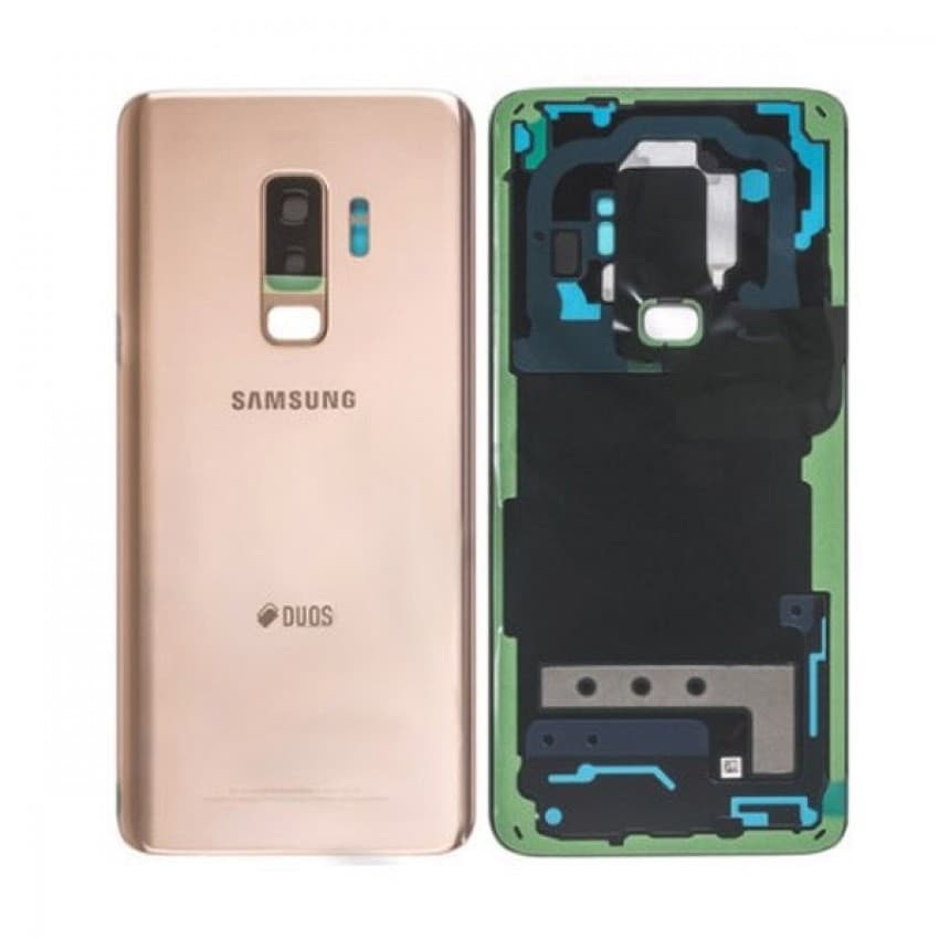 Back cover for Samsung G965F S9+ Sunrise Gold original (used Grade A)