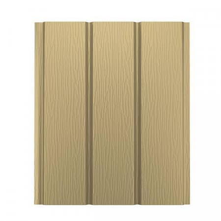Софит без перфорации AQUASYSTEM (АКВАСИСТЕМ), сталь 0.45 PE Zn 275, 1000х303 мм, цвет RAL 1001 (песочный)