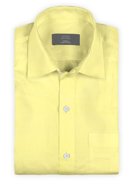 Lemon Poplene Shirt