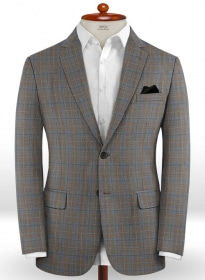 Napolean Imunda Gray Wool Jacket