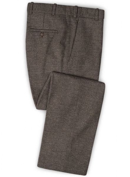 Carre Brown Tweed Pants