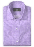 Italian Cotton Purple Shirt