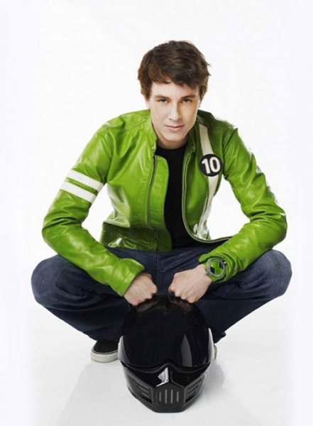 Ben 10 Kids Leather Jacket