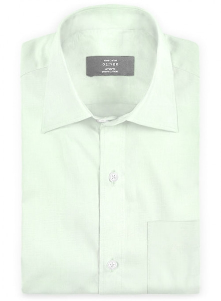 Italian Cotton Pale Green Shirt