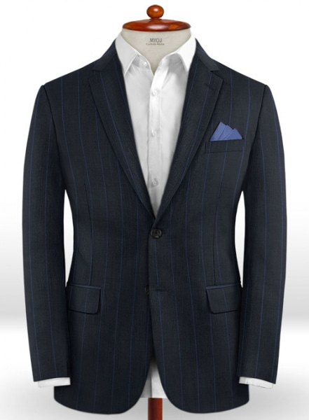 Napolean Rodrio Blue Wool Jacket