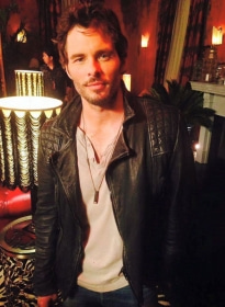 James Marsden The D Train Leather Jacket