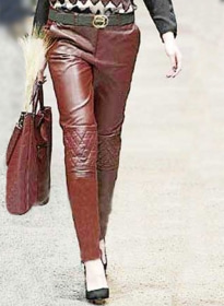 Sphynx Leather Pants