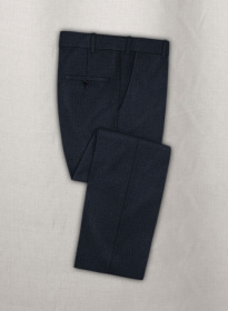 Pinhead Wool Blue Pants