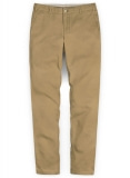Khaki Stretch Chino Pants