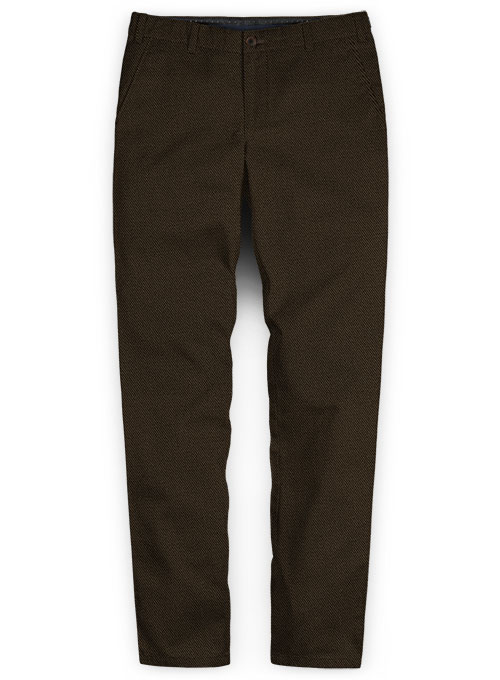 Heavy Dark Brown Chinos