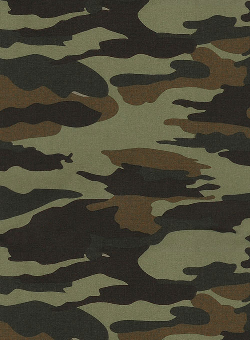 Khaki Stretch Camo Jeans