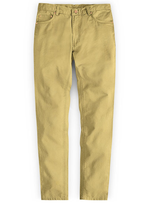 Light Khaki Chino Jeans
