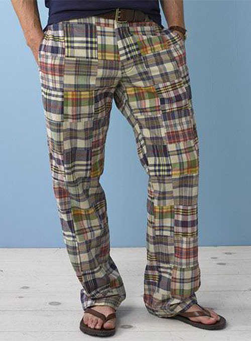 Madras Plaid - Light Weight Pants