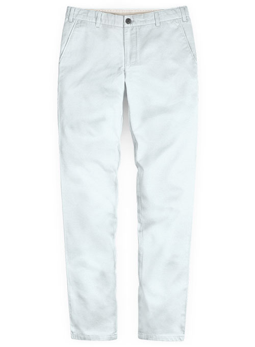 Stretch Summer Weight Sky Blue Chino Pants