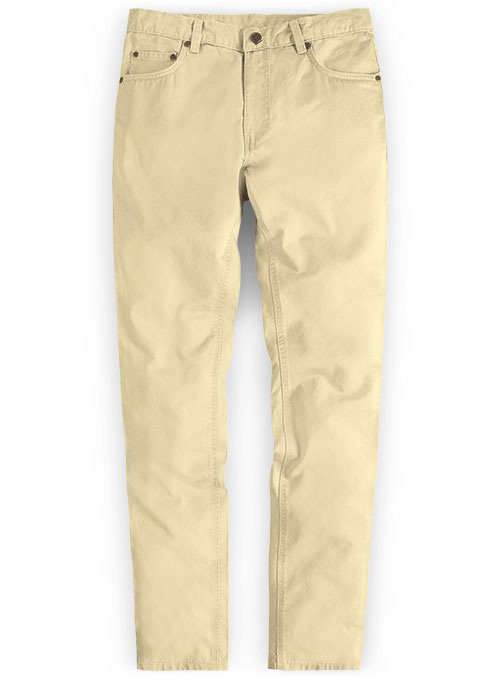 Stretch Summer Weight Sun Khaki Chino Jeans