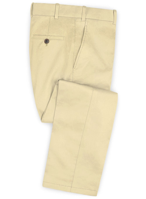 Stretch Summer Weight Sun Khaki Chino Pants