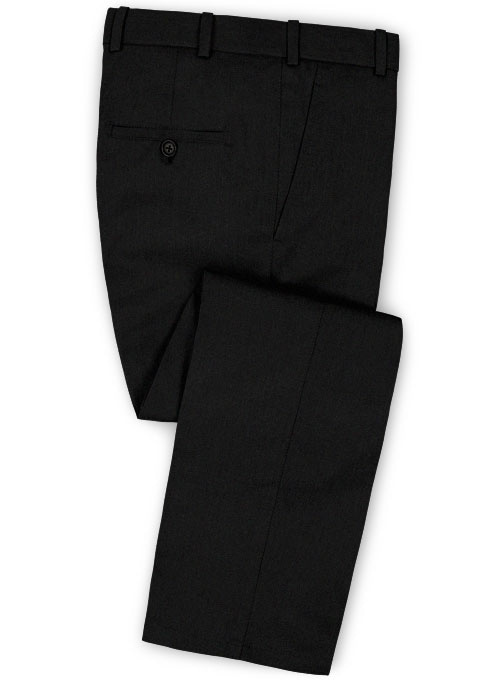 Summer Weight Black Chino Pants