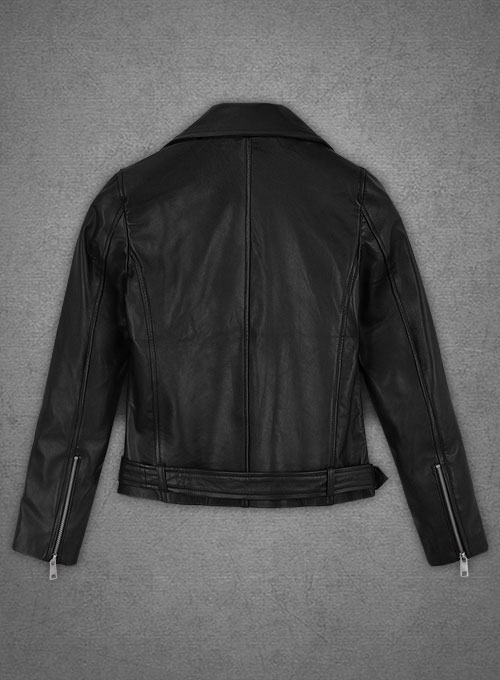 Adele Exarchopoulos Leather Jacket