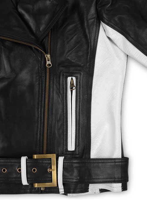 Black Leather Jacket # 289
