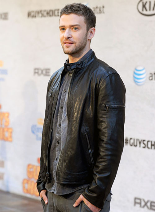 Justin Timberlake Guys Choice Awards Leather Jacket