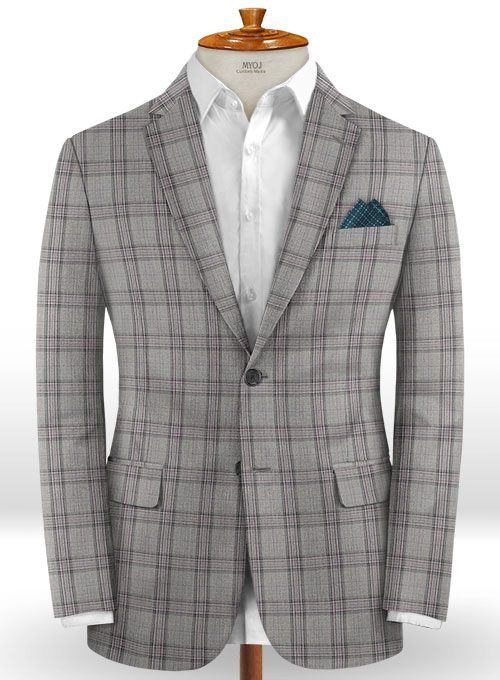Napolean Petti Light Gray Wool Jacket