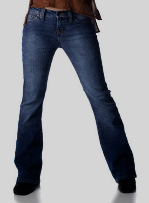 Classic 12oz Scrape Wash Denim Jeans - Darker Stretch