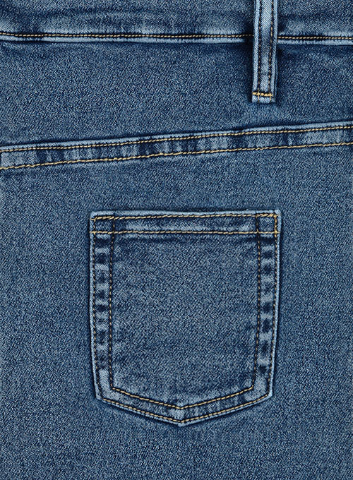 Body Hugger Stretch Blast Wash Jeans