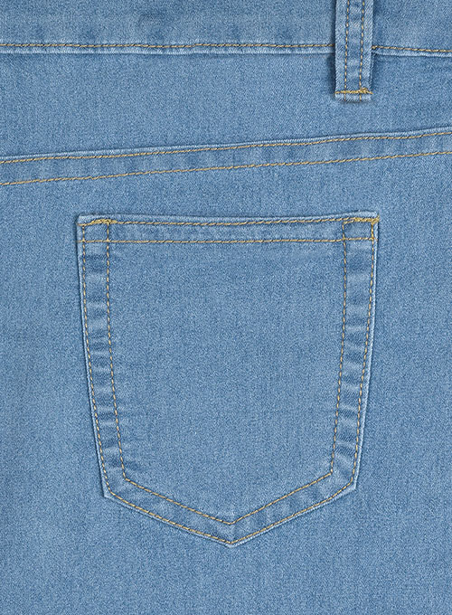 Indigo Blue Jeggings - Light Weight Jeans - Light Blue