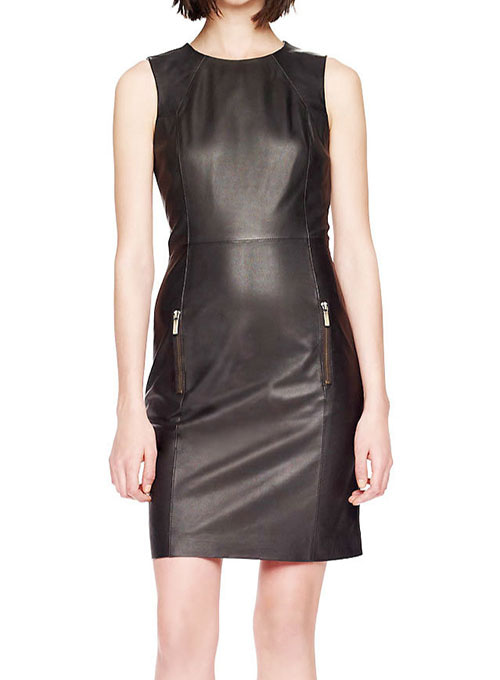 Miller Leather Dress - # 765