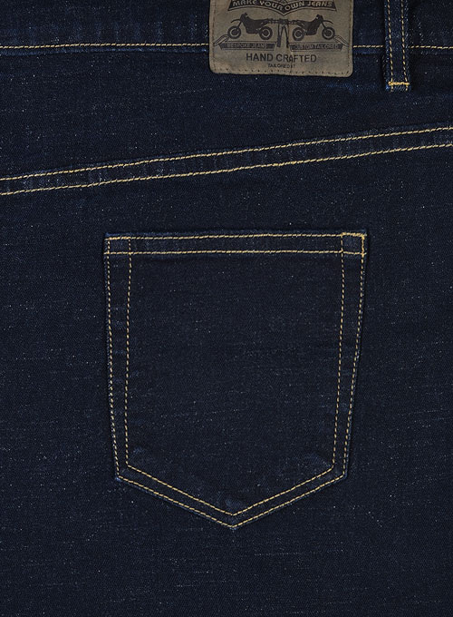 Pussy Cat Stretch Jeans - Dark Wash
