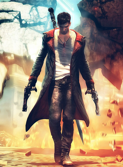 Devil May Cry 5 Dante Leather Coat