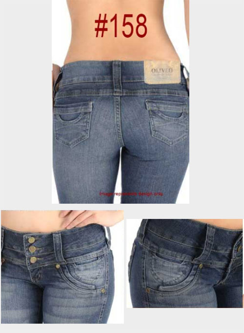 Brazilian Style Jeans - #158 - Click Image to Close