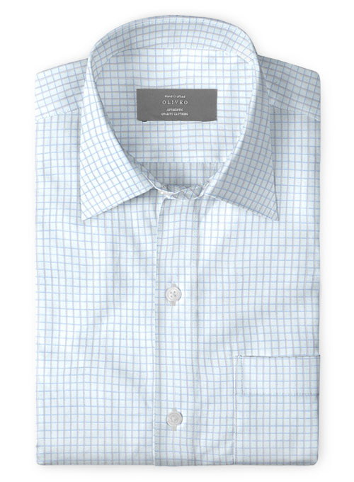 Giza Mark Cotton Shirt - Full Sleeves