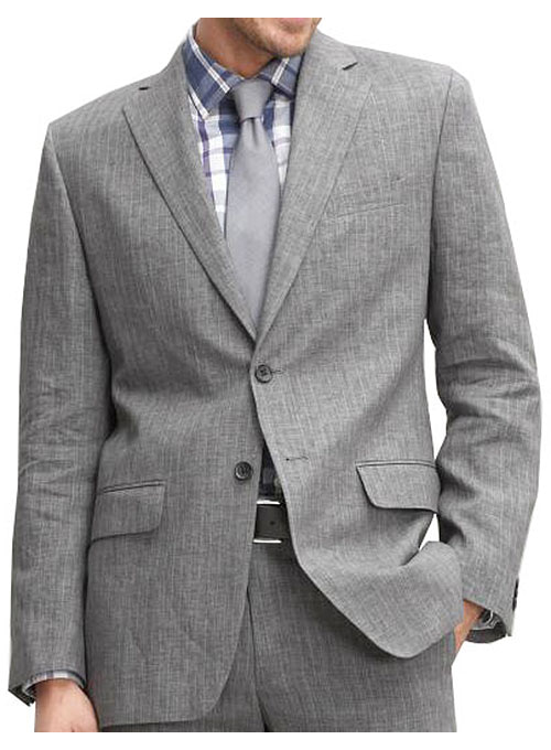 Italian Linen Jacket - Pre Set Sizes - Quick Order