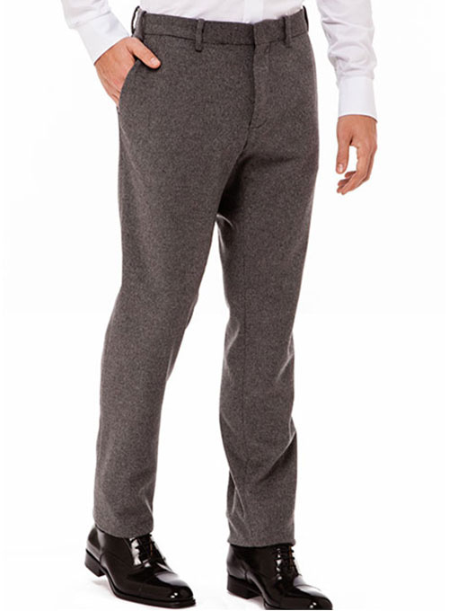 Reda Flannel Wool Pants