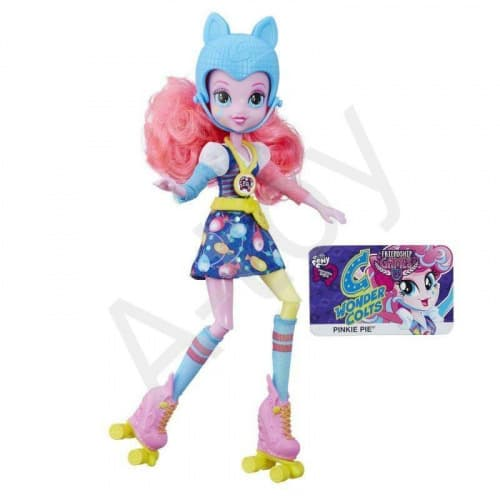 "купить Кукла Equestria Girls ""Игры дружбы"" Sporty Style: Пинки Пай (команда Wondercolts)"