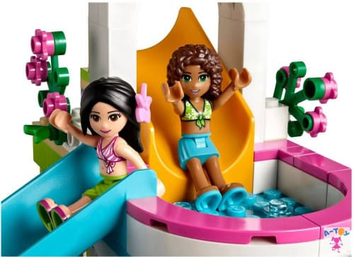 купить LEGO Friends Летний бассейн (Лего 41313)