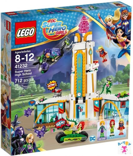 купить DC Super Hero Girls Школа супергероев (Lego 41232)