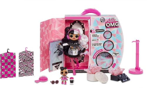 купить L.O.L. Surprise! O.M.G. Winter Disco Dollie Fashion Doll & Sister 561798