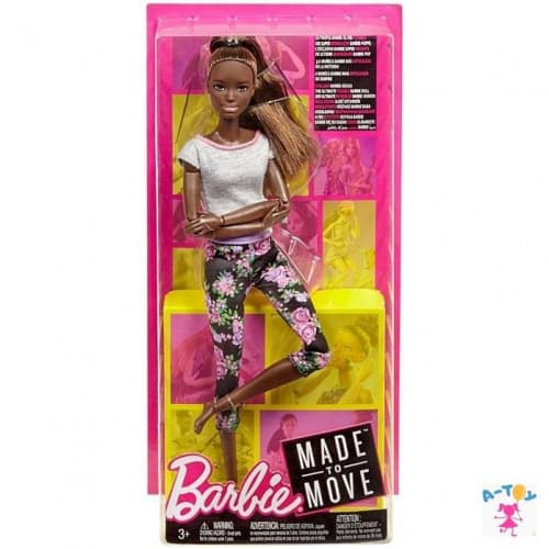 купить Mattel Barbie FTG83 Барби Безграничные движения