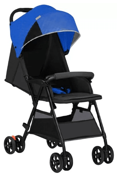 Детская коляска Xiaomi Qborn Lightweight Folding Stroller Blue