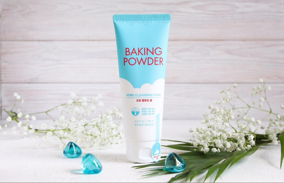 ETUDE HOUSE Очищающая пенка Baking Powder Pore Cleansing Foam