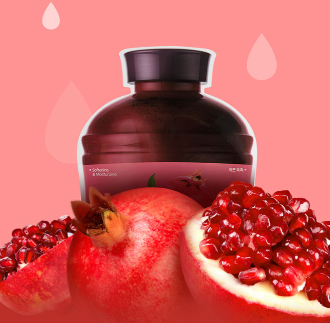 A'PIEU Тканевая маска с экстрактом граната Fruit Vinegar Sheet Mask Pomegranate