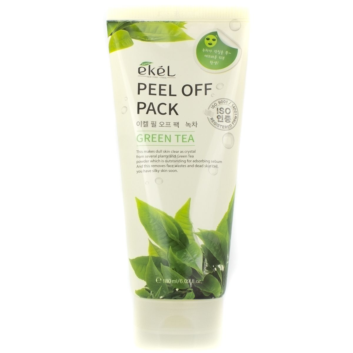 Ekel Peel Off Pack Green Tea Маска-пленка с экстрактом зеленого чая 180 мл