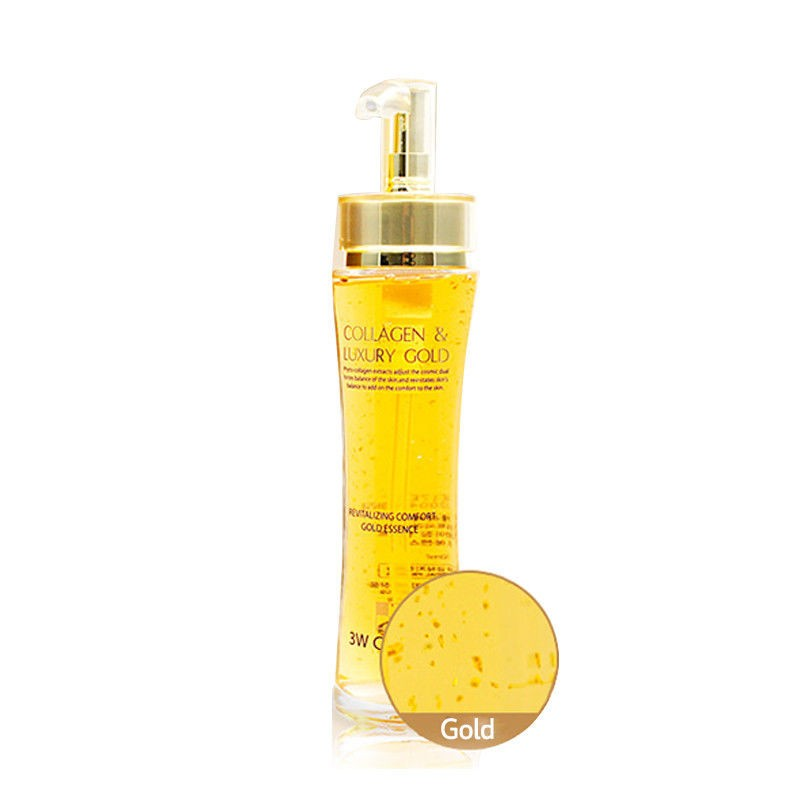 3W CLINIC Эссенция для лица Collagen & Luxury Gold Revitalizing Comfort Gold Essence