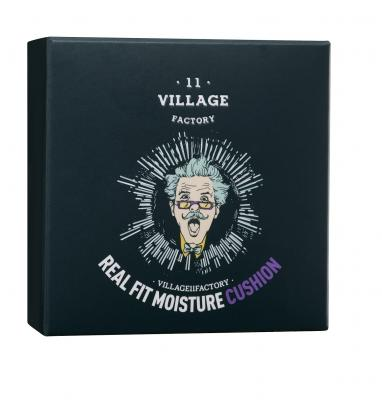 VILLAGE 11 FACTORY Увлажняющий кушон Real Fit Moisture Cushion SPF50+ PA+++ № 13 Light Вeige