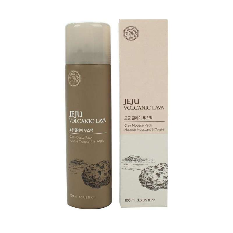 THE FACE SHOP Глиняная маска для лица Jeju Volcanic Clay Mousse Pack