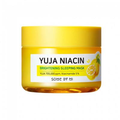 Ночная маска для лица с экстрактом юдзу SOME BY MI YUJA NIACIN BRIGHTENING SLEEPING MASK
